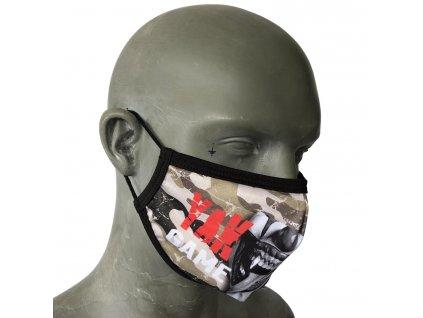 Yakuza rúško na tvár camouflage a