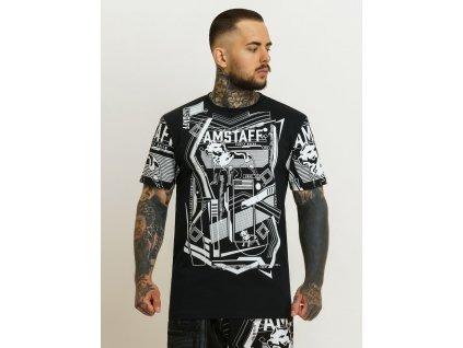 Amstaff tričko BOXTON black