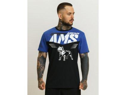 Amstaff tričko GARUS blue black