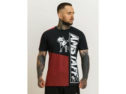 Amstaff tričko MATERA red