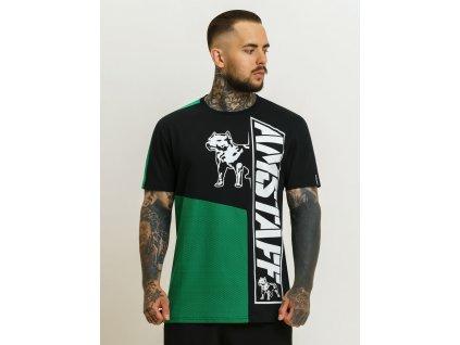Amstaff tričko MATERA green