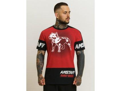 Amstaff tričko RIGAS red