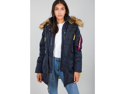 Alpha Industries PPS N3B Wmn dámska zimná bunda rep blue