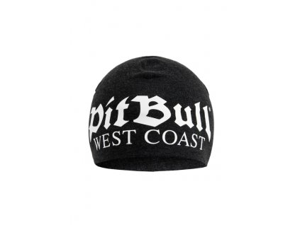 Pitbull West Coast zimná čiapka OLD LOGO dark grey