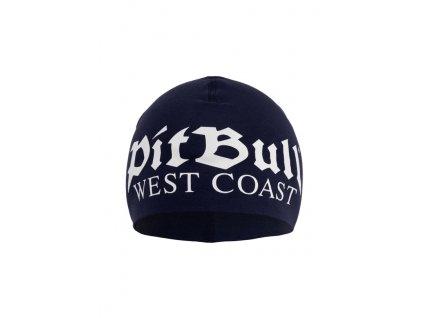 Pitbull West Coast zimná čiapka OLD LOGO navy