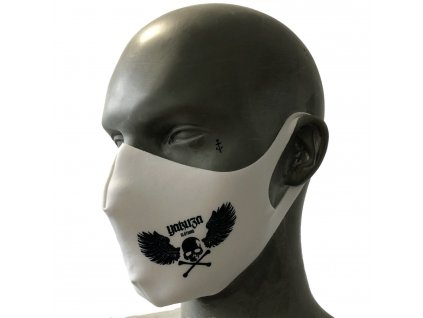 Yakuza rúško na tvár Flying Skull White