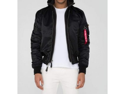 Alpha Industries zimná bunda MA 1 D Tec SE black black