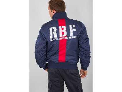 Alpha Industries RBF Jacket bunda pánska new navy