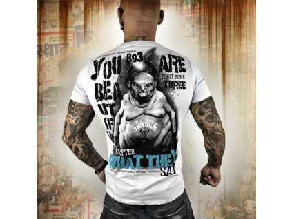 Yakuza tričko pánske U R Beautyful TSB 10004 gray dawn