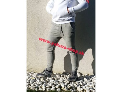 Alpha Industries Basic Jogger SL tepláky rep grey a