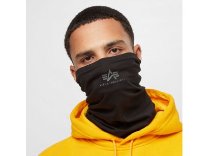 Alpha Industries Basic SL Tube Mask nákrčník black greyblack
