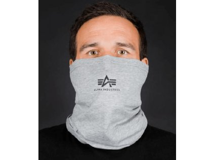 Alpha Industries Basic SL Tube Mask nákrčník grey black