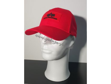 Alpha Industries VLC ll Cap šiltovka speed red