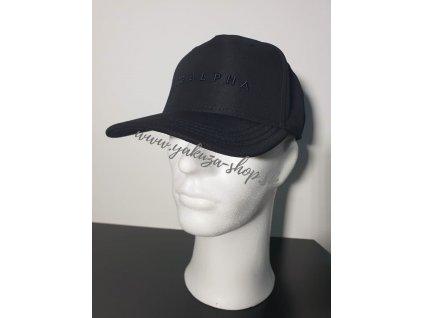 Alpha Industries HEAVY Cap šiltovka black
