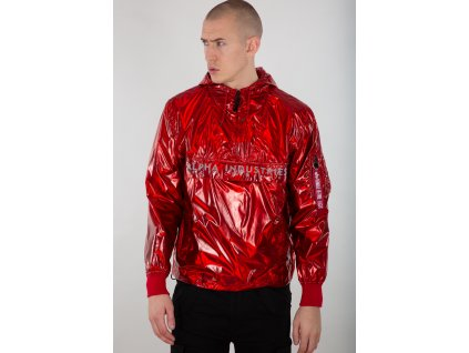 Alpha Industries GLOSSY Anorak bunda pánska speed red e