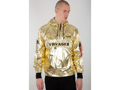 Alpha Industries Voyager NASA Anorak bunda pánska gold e