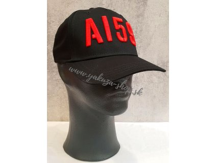 Alpha Industries 3D Cap šiltovka black red