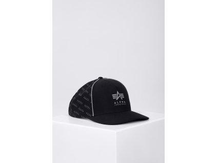 Alpha Industries Reflective Cap šiltovka black