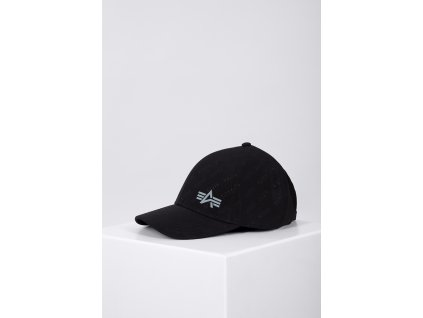 Alpha Industries Embossed Cap šiltovka black c