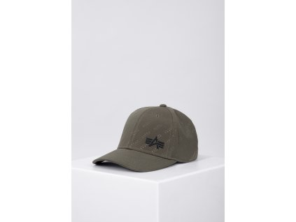 Alpha Industries Embossed Cap šiltovka army green g