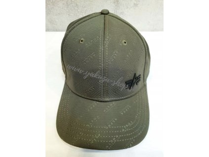 Alpha Industries Embossed Cap šiltovka army green