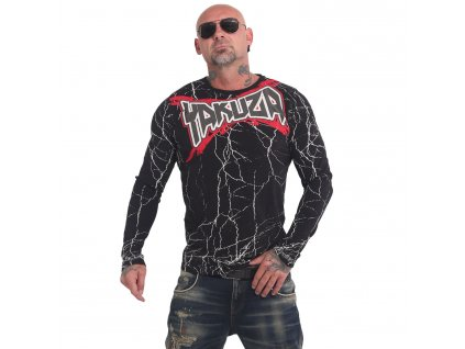 Yakuza tričko pánske s dlhým rukávom TOXIN LSB 17044 black