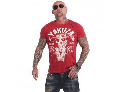 Yakuza RULES tričko pánske TSB 17025 chili peper