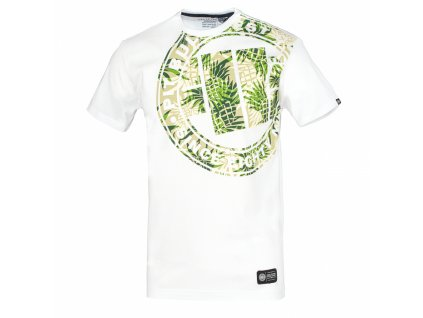PitBull West Coast tričko PINEAPPLE LOGO White