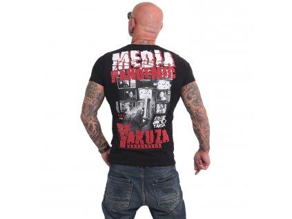 Yakuza PANDEMIC tričko pánske TSB 17086 black