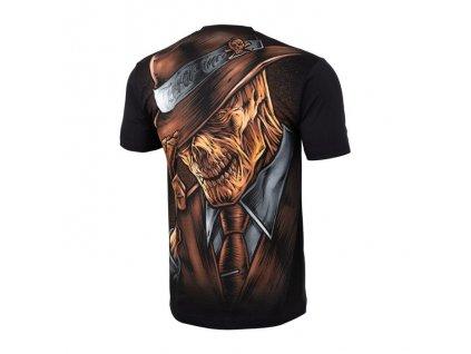 PitBull West Coast tričko pánske MAN IN HAT black