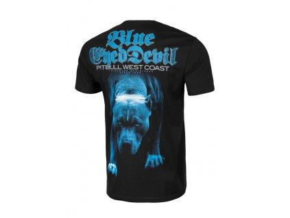 PitBull West CoastBLUE EYED DEVIL 21 black tričko pánske