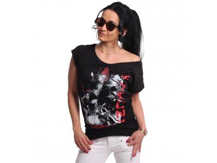 Yakuza RESPIRATOR V02 dámske tričko GSB 17123 black