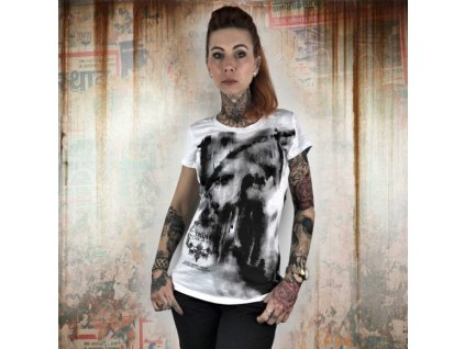 Yakuza NO LIGHT dámske tričko GSB 10110 White