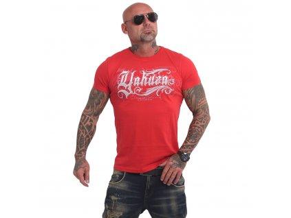 Yakuza GLORY tričko pánske TSB 17026 ribbon red