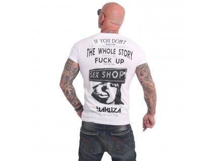 Yakuza XXX SHOP tričko pánske TSB 17022 white