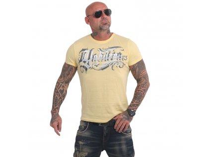 Yakuza GLORY tričko pánske TSB 17026 pale banana