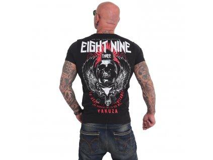 Yakuza INEVITABLE tričko pánske TSB 17028 black