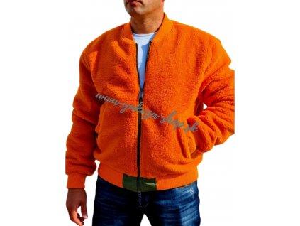 Alpha Industries bunda MA 1 FLC REV obojstranná pánska zimná bunda sage green orange2