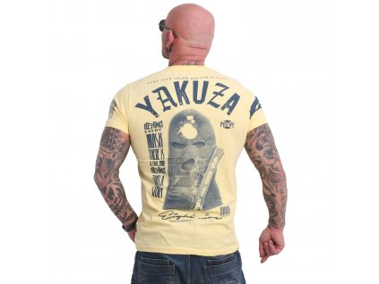 Yakuza ULSTER tričko pánske TSB 17033 pale banana
