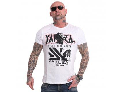 Yakuza NIPPON ZOMBIE tričko pánske TSB 17039 white