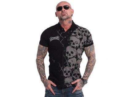 Yakuza polo tričko KILLING FIELDS POLO TPO 17043 black