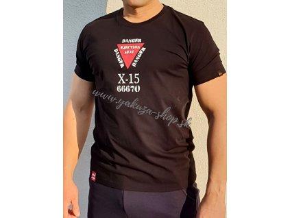 Alpha Industries X15 T tričko pánske black