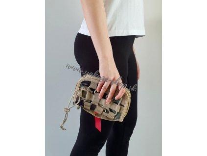 Alpha Industries TACTICAL WALLET peňaženka woodl camo 65