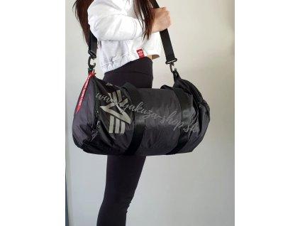 Alpha Industries PACKABLE SPORTS BAG veľká taška black