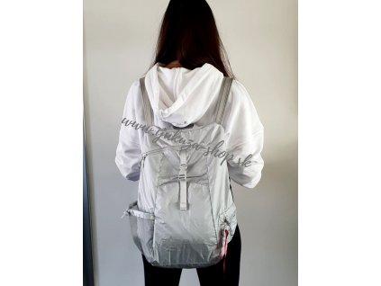 Alpha Industries Packable Backpack ruksak silver reflective