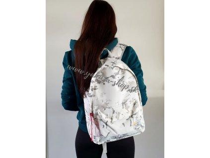 Alpha Industries SNOW CAMO Backpack ruksak white camo