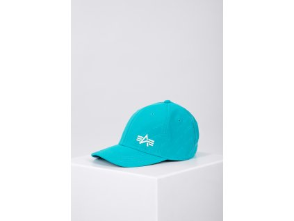 Alpha Industries Embossed Cap šiltovka blue lagoon