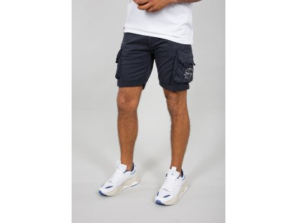 Alpha Industries NASA Short Rep blue pánske šortky