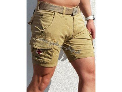 Alpha Industries RESCUE Short Sand pánske šortky