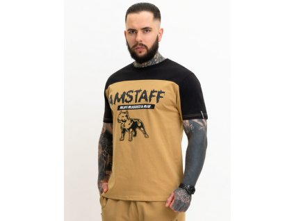 Amstaff tričko DOKAS sand